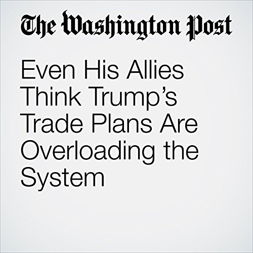 Even His Allies Think Trump's Trade Plans Are Overloading the System audiobook cover art
