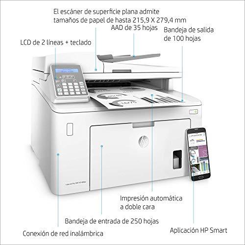 HP LaserJet Pro MFP M148fdw - Impresora láser multifunción, monocromo, Wi-Fi, Ethernet (4PA42A)
