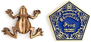 Carat Shop The Harry Potter Pin Badges 2-Pack Chocolate Frog Pins Brooches