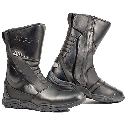 Richa Zenith Waterproof Leather Touring Motorcycle Boots Black 41 (7)