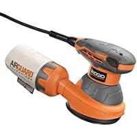 Deals on RIDGID 3 Amp 5 In. Corded Random Orbit Sander
