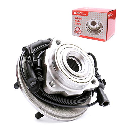 FKG 515078 Front Wheel Bearing Hub Assembly for 2006-2010 Ford Explorer, 2007-2010 Ford Explorer Sport Trac, 2006-2010 Mercury Mountaineer, 5 Lugs W/ABS