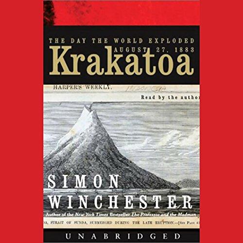 Krakatoa audiobook cover art
