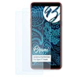 Bruni Schutzfolie kompatibel mit Oppo F7 Youth Folie, glasklare Bildschirmschutzfolie (2er Set)