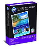 HP Printer Paper ColorPrinting  24lb, 8.5x 11, 1 Pack, 400 Sheets, Made in USA, Forest Stewardship Council (FSC) Certified Resources, 97 Bright, Acid Free, Engineered for HP Compatibility, 202040R