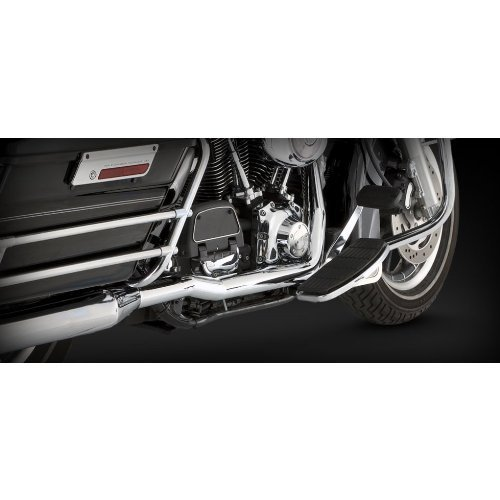 Vance & Hines 16799 Chrome Dresser Duals Head Pipes for Harley-Davidson Touring 1995-08