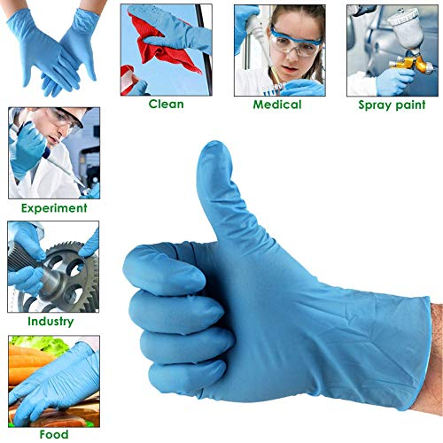Galaxy Nitrile Powder-Free Hand Gloves (Small) - Pack of 100