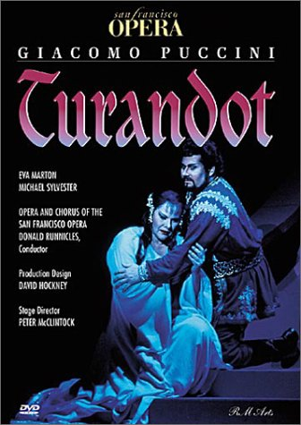 Puccini - Turandot / Conductor: Donald Runnicles, Starring: E. Marton & M. Sylvester - San Francisco Opera, Stage Director: Peter McClintock