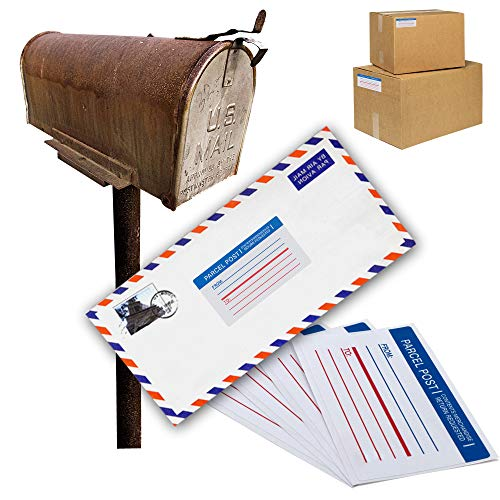Emraw Super Great Mailing Labels Permanent Adhesive Paper Label for Envelopes - Great for School, Home & Office – 25 Labels Per Pack - (2-Pack) Photo #3