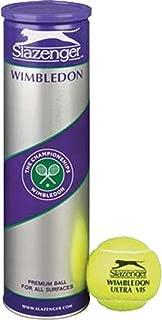 Slazenger Wimbledon Sports Ultra Vis Tennis Training Practice Balls- 12 Balls Only
