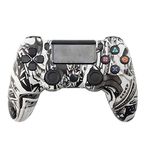 PS 4Controller Wireless Game Board, geeignet fürPlaystation Dualshock 4Bluetooth Joystick Vibration Game Board, verwendet fürPS4 Pro Silm PS3 PC-SpielBeautypattern