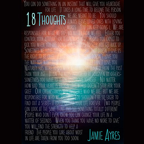 18 Thoughts audiobook cover art