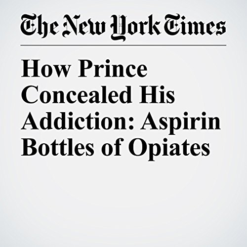 How Prince Concealed His Addiction: Aspirin Bottles of Opiates copertina