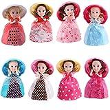 STOBOK Cupcake überraschung duftende Prinzessin Puppe magisches Geschenk Spielzeug Mini Cupcake...