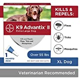 Best Flea And Tick Prevention For Dogs - K9 Advantix II,Mosquito Prevention For Extra-Large Dogs,Pest,Over 55 Review