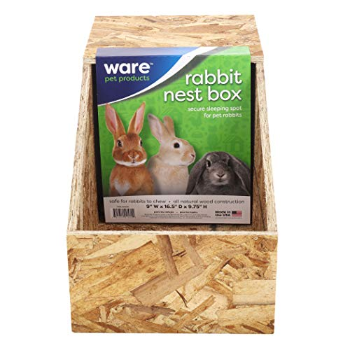 Ware Manufacturing Wood Nesting Box for Rabbits