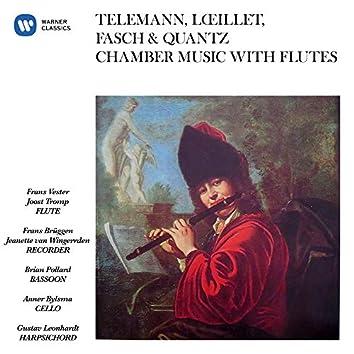 Telemann, Lœillet, Fasch & Quantz: Chamber Music with Flutes