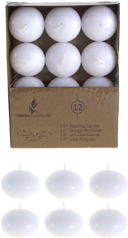 Mega Brand Cheap Sale Venue Candles - favorite Unscented 1.5