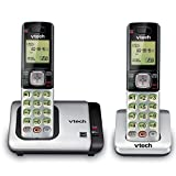 VTech CS6719-2 2-Handset Expandable Cordless Phone with Caller ID/Call Waiting, Handset Intercom & Backlit Display/Keypad (Renewed)