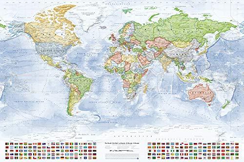 världskarta poster ikea
