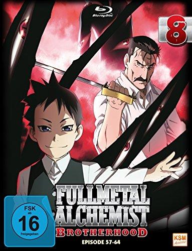 Fullmetal Alchemist: Brotherhood - Volume 8 (Digipack im Schuber mit Hochprägung und Glanzfolie) (Blu-ray) [Limited Edition]