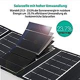 RAVPower 24W Solarladegerät mit 3 USB - 2