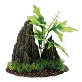 Marina Doble Cultivo Roca Y Planta Gde 14,5X8X9,5
