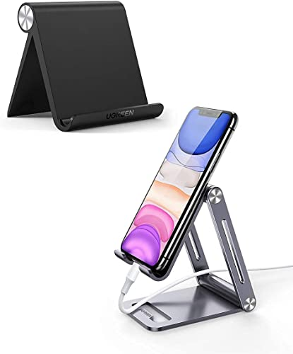 lowest UGREEN Tablet Stand Holder with Aluminum Phone Stand Portable Adjustable Compatible for iPad Mini 5 4 3 2, Nintendo Switch, iPhone 11 Pro sale Max SE discount XS XR X 8 Plus 7 6 outlet online sale