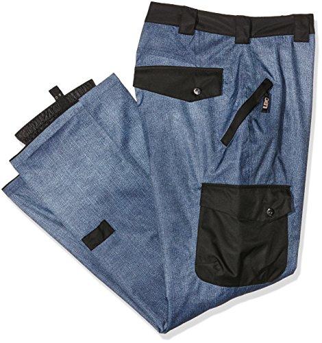 Light Pantalon pour Femme Chaud spécial extérieur-Swing L Bleu - Denim/Black