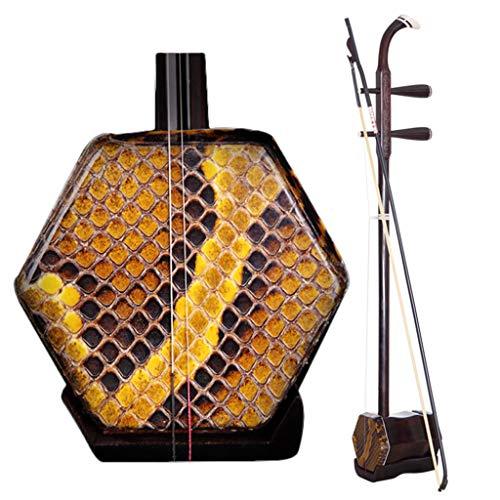 Erhu Chino Instrumento Musical Nacional Profesional Tocando