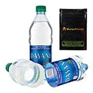 Dasani Diversion Safe Water Bottle Stash Can w HumanFriendly Smell-Proof Bag