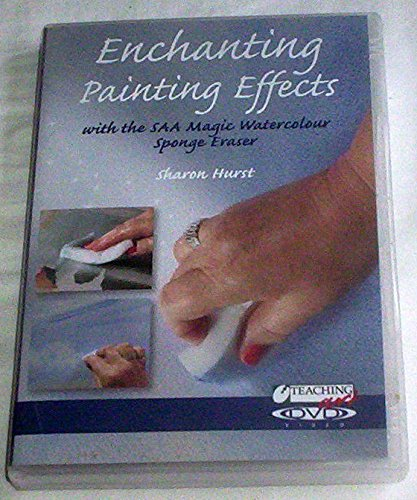 Enchanting Painting Effects with Magic Watercolor Sponge Eraser