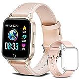 Smartwatch Donna, Orologio Intelligente Fitness Tracker Impermeabil IP68 Cardiofrequenzime...