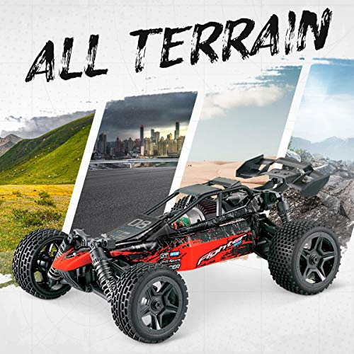 RC Auto kaufen Buggy Bild 3: Hosim 1:16 Scale 4WD Remote Control RC Truck G171, High Speed Racing Vehicle 36km/h Radio Controlled Off-Road 2.4Ghz RC Car Electronic Monster Hobby Truck R/C RTR Car Buggy for Kids Adults Birthday*