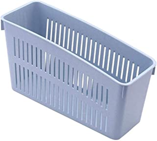 Warmwin Panier à 4 Trous Réfrigérateur Boîte de Rangement Tiroir escamotable Porte-Bouteilles Boite de Stockage de légumes...