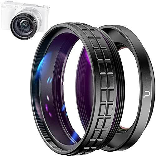 A7C 카메라용  ZV-E10용 WL-3 와이드 앵글 렌즈 셀카 비디오 촬영 렌즈메이트