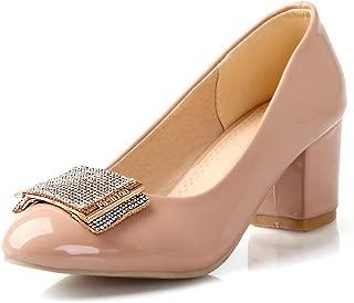 BalaMasa Womens APL12317 Pu Heeled Sandals