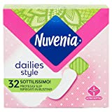 Nuvenia Proteggi Slip, Sottilissimo, Ripiegato, Pro Skin Formula - 6 Confezioni da 32 asso...