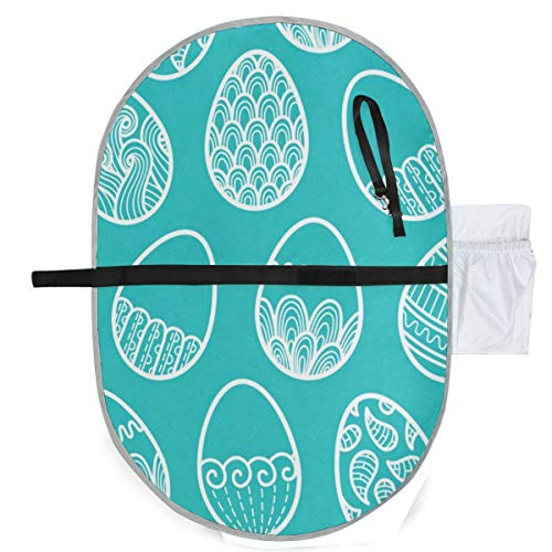 Changing Pad Green Eggs Baby Diaper Incontinence Pad Mat Designer Adults Mattress Pad Sheet for Any Places for Home Travel Bed Play Stroller Crib Car