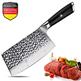 Aroma House Couteau de Chef Couperet de Cuisine Chinois Couteau en Acier à Haute...