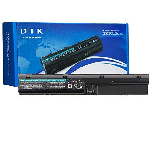 DTK Laptop Battery Replacement Hp Probook 4330s 4331s 4430s 4431s 4435s 4530s 4535s 4536s 4440s 4441s 4446s 4540s 4545s Series [6-Cell 10.8v 4400mah] Notebook Battery