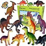 Tina De Animales//Dinosaurios Juguete de Plástico de 48 Ideal Para Bolsas De Fiesta-totalmente Nuevo