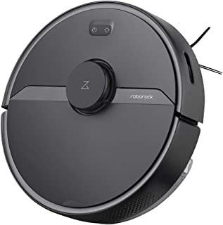 Roborock S6 Pure Robot Vacuum and Mop, Multi-Floor Mapping, Lidar Navigation, No-go Zones, Selective Room Cleaning, Super ...