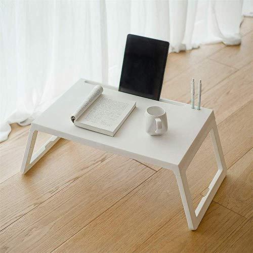 KANJJ-YU Escritorio portátil portátil portátil ajustable sofá cama mesa mesa portátil escritorio con patas plegables para el hogar oficina para sofá piso niños (color foto, tamaño: tamaño único)