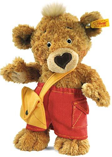 Steiff 014444 Teddyb. Knopf 25 Hellbraun Bär, Goldbraun
