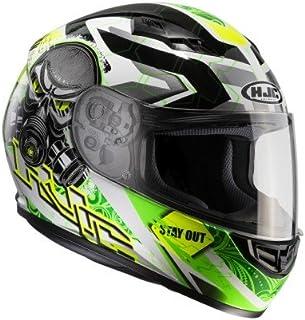 HJC Motorradhelm   CS 15 Rafu MC4H, Noir/Vert, Größe M