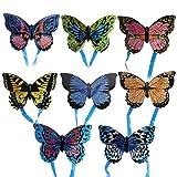 Momangel NiñOs Creativos Al Aire Libre InteraccióN Padre-Hijo Juguete Historieta AvióN Mariposa Insecto Mini Cometa Butterfly* Random Style&Color