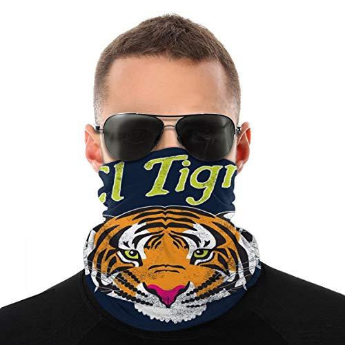 El Tigre Tiger Shirt verschiedene Kopftuch Fahrrad Magic Headwear Halstuch Gesicht Bandana Schal
