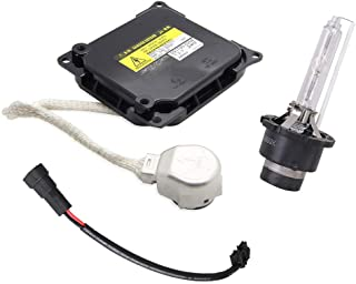 Yikesai Xenon HID Headlight Ballast Control Unit with Igniter and D4S Bulb Module for Lexus Toyota Prius Avalon Solara Venza-Replaces OE#KDLT003 DDLT003 85967-52020
