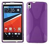 Cadorabo Hülle für HTC Desire 816 in Flieder VIOLETT –